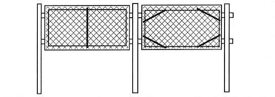 забор из сетки рабицы в Севастополе